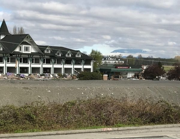 Delta hotel is now being demolished for casino